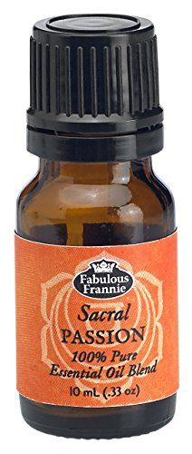 2nd Chakra Sacral Passion Pure Essential Oil Blend undiluted .33oz (10ml)