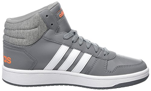 Unisex 2 Mid Ftwbla Grau adidas Naalre 000 0 Hoops Fitnessschuhe Kinder Gritre 4pW66qR