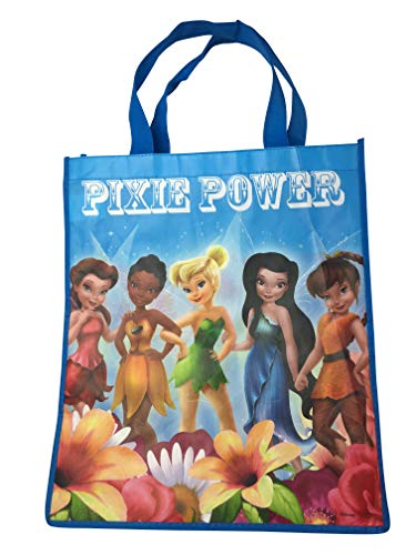 Disney's Pixies and Fairies with Tinkerbell Large Reusable Tote Bag