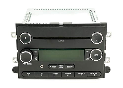 1 Factory Radio AM FM CD Player w Aux Input Compatible With 2008-2010 Ford Edge Lincoln MKX 8T4T-18C869-AC