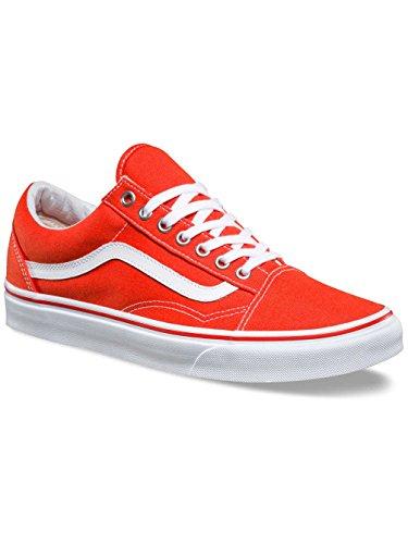 Bestelwagens Unisex Authentieke Skate Schoen Cherrytomaat / Echt Wit