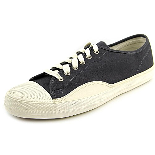 Tretorn Men's Racket High Low Canvas Jet Black Sneaker 9.5 D (M)