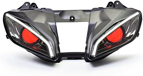Krator NEW Black Upper Stay Cowl Bracket Cowling Brace For Yamaha YZF R6 2008-2014