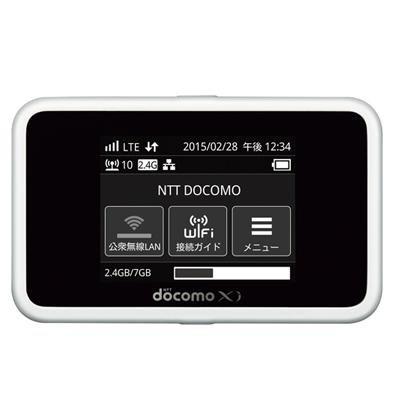 Wi-Fi STATION HW-02G(ホワイト)