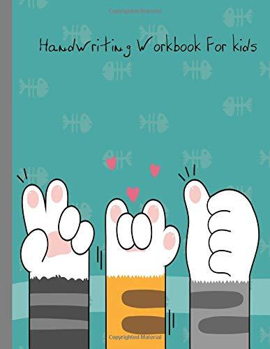 Handwriting Workbook For kids Printing Practice Handwriting Workbook, Blank Lined Journal Back to School Books (Handwriting Paper) [Ross, Lynn] (Tapa Blanda)