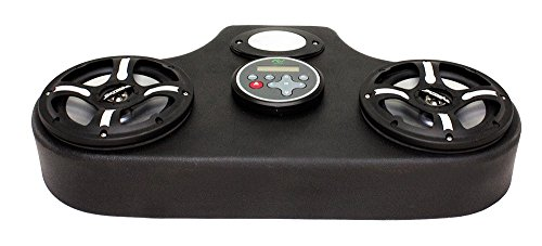 Froghead Industries Stereo for Honda Pioneer 1000 AMPHIB302CLED Two Speaker Bluetooth AM/FM Stereo System With RGB LED Speakers by Froghead Industries