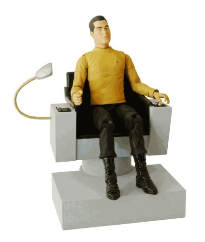 Star Trek Captain Pike & Chair Deluxe Action Figure