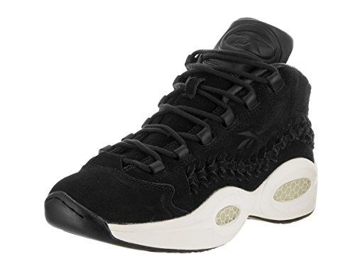 Reebok Question Mi Hof Mens Chaussures De Basket-ball Noir