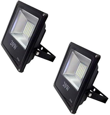 Pack 2 x Foco Led Slim de 20W - Luz Neutra 4000/4500k - 1800 Lm ...