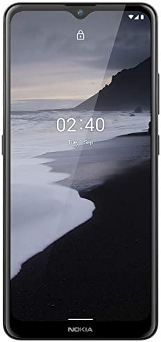 Nokia 2.4 Android 10 Unlocked Smartphone with 2/32 GB Memory, 6.5-Inch HD+ Screen, 2-Day Battery Life, Fingerprint Sensor and Google Assistant, Charcoal (AT&T/T-Mobile/Cricket/Tracfone/Simple Mobile)