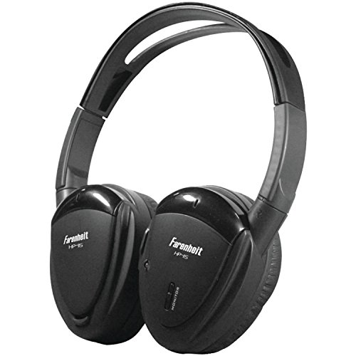 Power Acoustik HP12S IR 2CH WIRELESS (Farenheit Wireless Headphones)