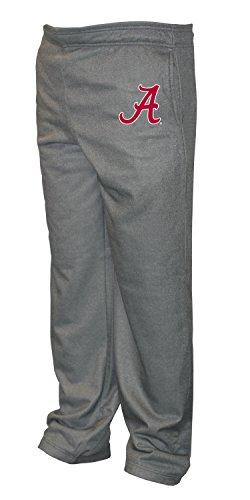 (Old Varsity Brand NCAA Alabama Crimson Tide Big Men's Poly Fleece Pants, XX-Large/Tall, Dark Heather)