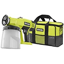 Ryobi P630 One+ 18V Cordless Power Paint Sprayer (Battery and Charger Not Included)