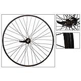 Wheel Master Rear 26 x 1.75/2.125, WEI-AS7X, Black, 36H, 14g Blk Spokes