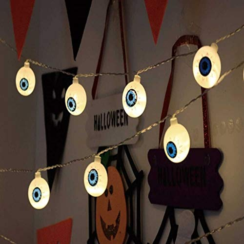 Party Diy Decorations - Set Pumpkin Led String Light Halloween Decoration Warm White Home Accessory - Ribbon Ornament Allhallow Eve Ornamentation Medallion Medal Laurel - 1PCs]()