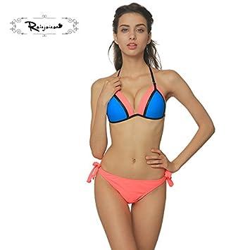 516563529ec0 TIANLU Bikini Sexy Conjuntos bañador de Adelgazamiento Trajes de ...