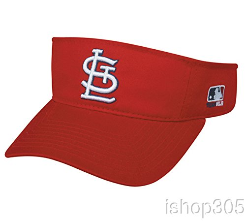 Cardinal Visor - St. Louis Cardinals MLB Team Visor