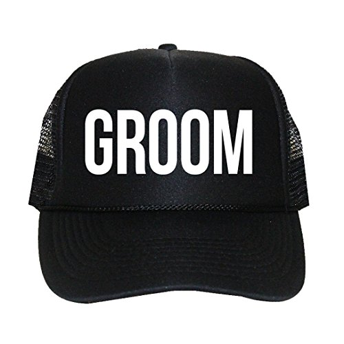 Classy Bride Groom Trucker Hat for The -