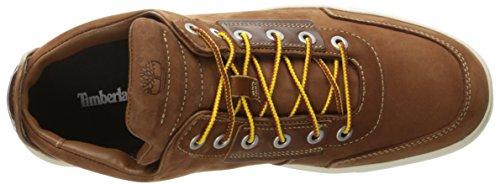 Timberland Hombres Amherst High Top Chukka Moda Sneaker Sahara Brando Full Grain