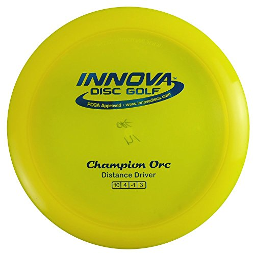 Innova Champion Orc Distance Driver Golf Disc [Colors may vary] - - Golf Orc Disc