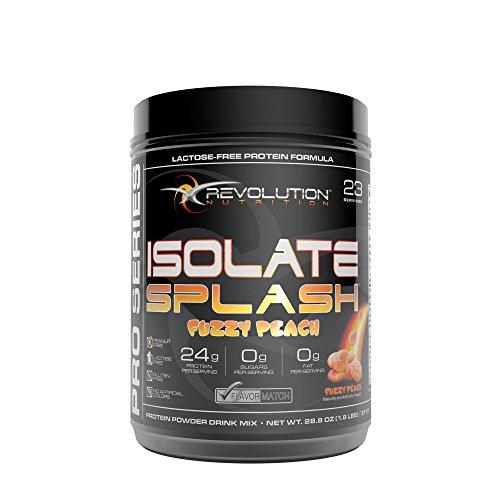 (Revolution Nutrition Isolate Splash - Fuzzy Peach)