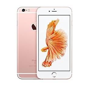 Apple iPhone 6S Plus, GSM Unlocked, 16 GB – Rose Gold (Certified Refurbished)