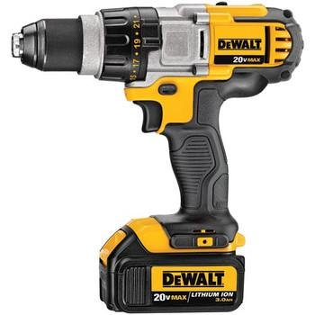 Dewalt DCD980L2R Factory-Reconditioned 20V MAX Cordless Lithium-Ion Premium 3-Speed Drill Driver Kit with 3.0 Ah Batteries