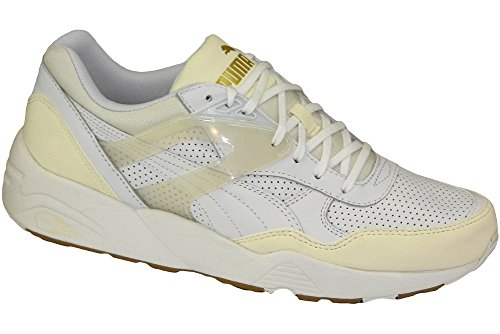 PUMA R698 Trinomic Wn - 35829101 - Color White - Size: 7.0 (Puma Trinomic Women)