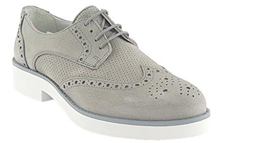 Zapatos Cordones Para Mujer Soldini de gris gTqvq8w