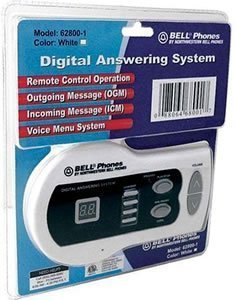 Digital Answering Machine 13MIN WHITE ()