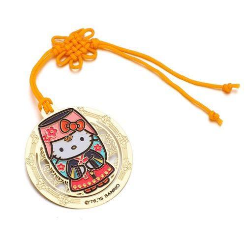 Sanrio Hello Kitty Hanbok Korea Traditional Costume Bookmark -