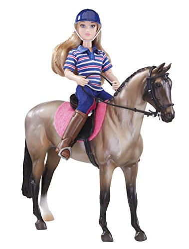 Breyer Horse and Doll Set, English Horse and Rider