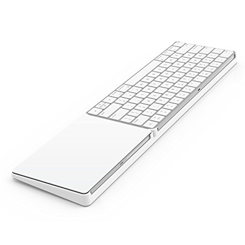 Bestand Stand for Magic Trackpad 2(MJ2R2LL/A) and Apple latest Magic Keyboard(MLA22LL/A) Apple Keyboard and Trackpad NOT Included (White) by Bestand (Image #1)