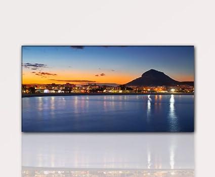 Alicante 120x60cm Foto sobre lienzo, XXL Fotos completamente ...
