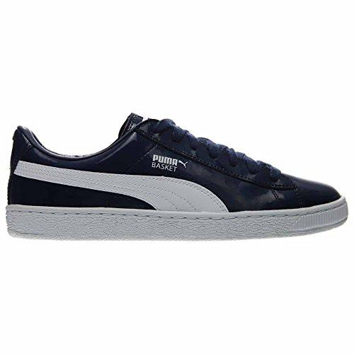Puma Herenmand Mat En Glans Fashion Sneaker Blauw