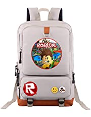 Roblox Cool-Bag Laptop Backpack Student Schoolbag Leisure Fashionable Lightweight Large Space Anti-Dirt Schoolbag