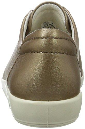 Soft De Gris Cordones Derby Mujer Ecco 2 warm Zapatos Para Grey 0 HgURdq