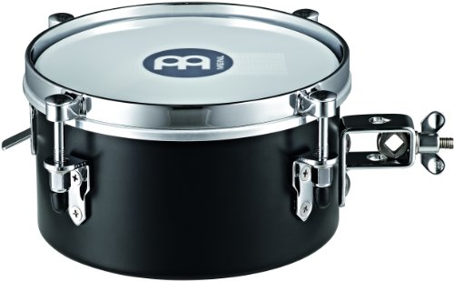 Meinl Percussion MDST8BK 8-Inch Steel Mountable Drummer Snare Timbale, Black by Meinl Percussion