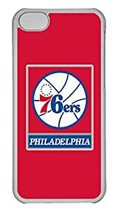 Creative GOOD 5C Case, iPhone 5C Case, Personalized Hard PC Clear Shoockproof Protective Case Cover for New Apple iPhone 5C - Nba Philadelphia 76Ers