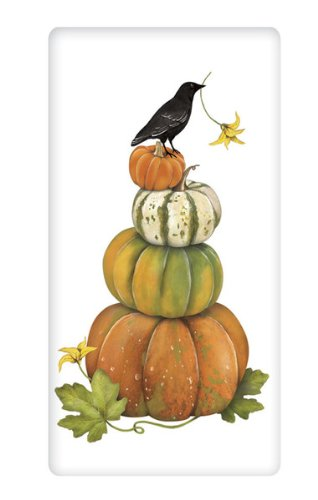 Pumpkins Stacked (Mary Lake-Thompson - STACKED PUMPKINS BAGGED TOWEL)