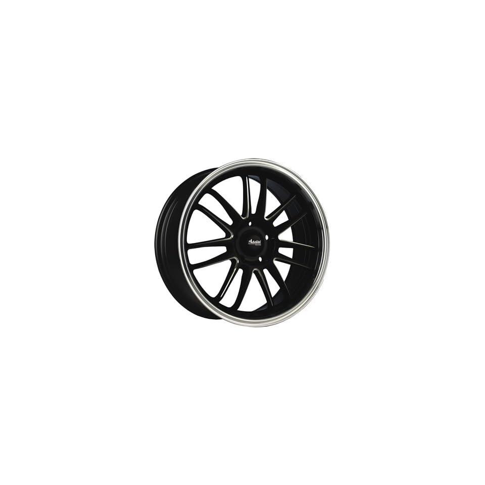 Advanti Racing Stilo 16x7 Black Wheel / Rim 5x100 & 5x4.5 with a 40mm Offset and a 73.00 Hub Bore. Partnumber 70B S367T04405