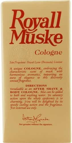 ROYALL MUSKE by Royall Fragrances AFTERSHAVE LOTION COLOGNE SPRAY 4 OZ for MEN ---(Package Of 5)