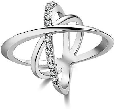 [해외]Rockyu 백 금 반지 남성용 여성용 인기 13 호 핑 키 반지 하와이안 다이아몬드 지 르 콘 / Rockyu Platinum Ring Men`s Women`s Popular No.13 Pinky Ring Hawaiian Diamond Zircon