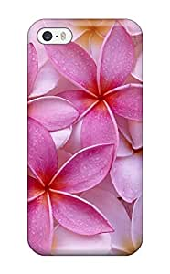 8446098K77491043 Tpu Phone Case With Fashionable Look For Iphone 5/5s - Flower