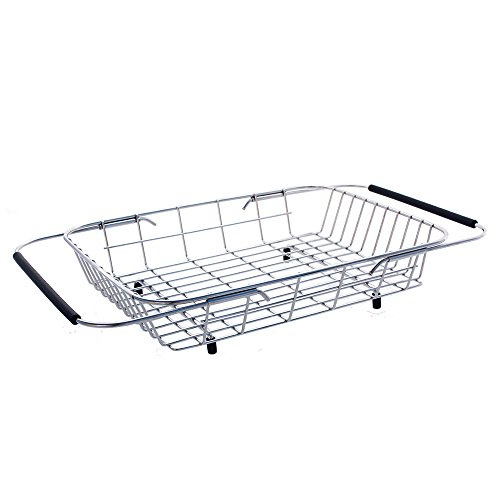 Kindred FAB100 Adjustable Basket, Chrome (Kindred Dish)