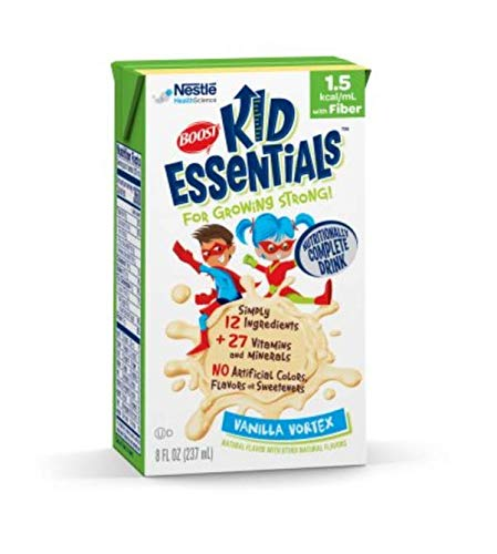 Nestle Nutritional BOOST Kid Essentials 1.5, French Vanilla (with Fiber), Qty: 1
