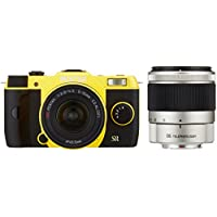 PENTAX mirrorless single-lens Q7 double zoom kit [standard zoom 02 STANDARD ZOOM ? telephoto zoom 06 TELEPHOTO ZOOM] yellow Q7 YELLOW WZOOM KIT 11567 [International Version, No Warranty]
