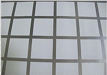 Tiptopcarbon Fenster Sichtschutzfolie Milchglasfolie Block 123cm