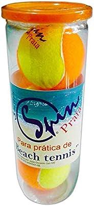 Bola de Beach Tennis Spin Praia (Tubo com 3 bolas)-SPIN