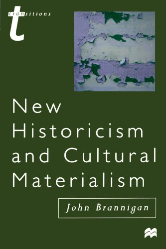 New Historicism and Cultural Materialism (Transitions (Palgrave))